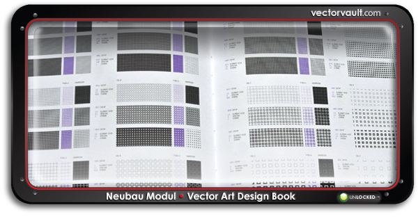 Neubau-Modul-design-book-search-buy-vector-art