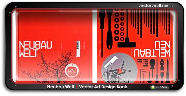 Neubau-Welt-design-book-cover-search-buy-vector-art