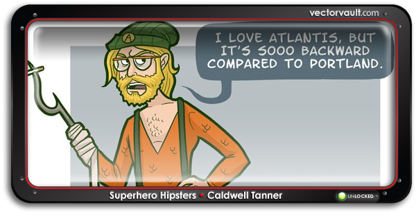 aquaman-1-superhero-hipster-Caldwell-Tanner-search-buy-vector-art