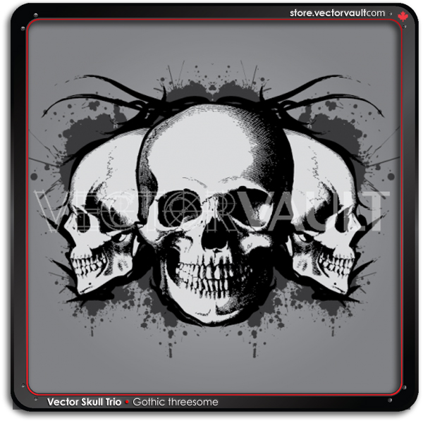 skulls-buy-vector-graphics