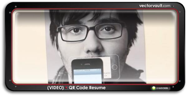 qr-code-resume-search-buy-vector-art