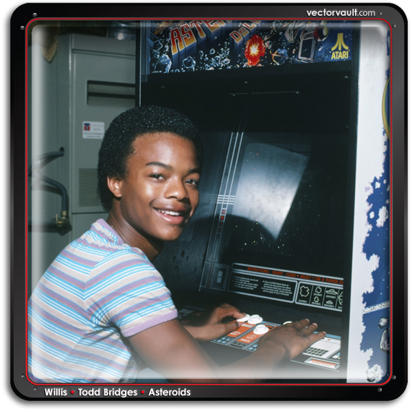 todd-bridges asteroids-vector-video-game-retro-arcade