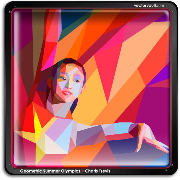 Charis-Tsevis-geometric-vector-olympics