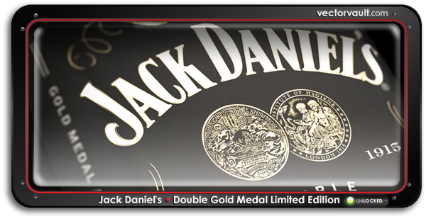 Jack Daniel's Double Gold Medal Limited Edition