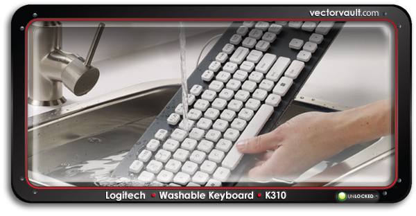 Washable-Keyboard-K310-search-buy-vector-art