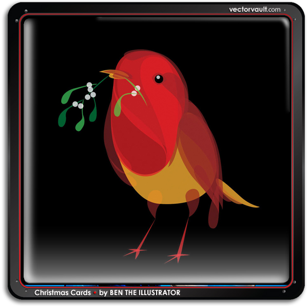 bird-christmas-cards-ben-the-illustrator--vector-art-buy-search-vectors