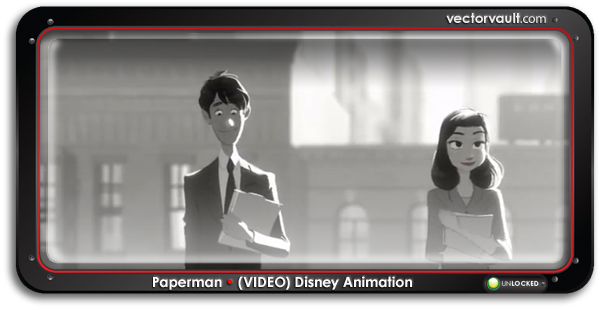paperman-disney-animation-video-search-buy-vector-art