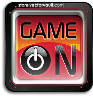 vector-game-on-logo-tablet-button-buy-search-vectors
