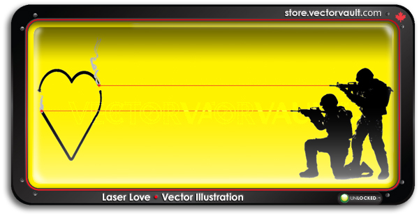 laser-love-search-buy-vector-art