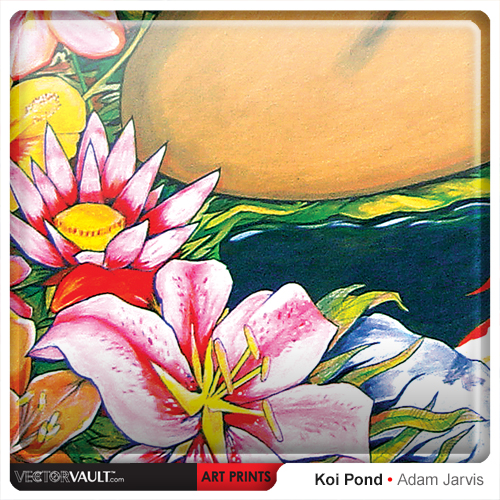 5-022-buy-art-print-koi-pond-by-adam-jarvis-painting-sized-to-fit-ikea-frame