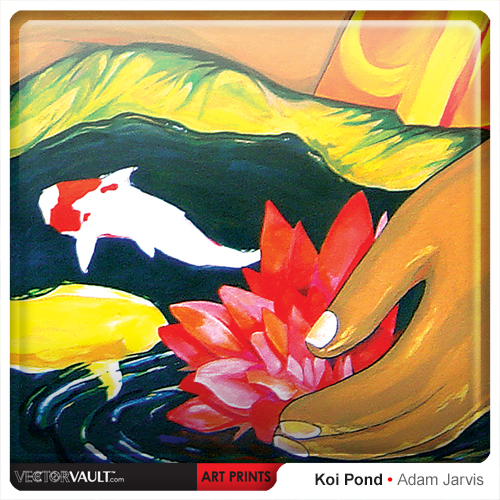 6-022-buy-art-print-koi-pond-by-adam-jarvis-painting-sized-to-fit-ikea-frame
