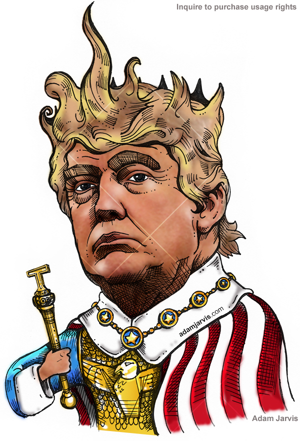 https://www.behance.net/gallery/47089731/Donal-Trump-Editorial-Illustration