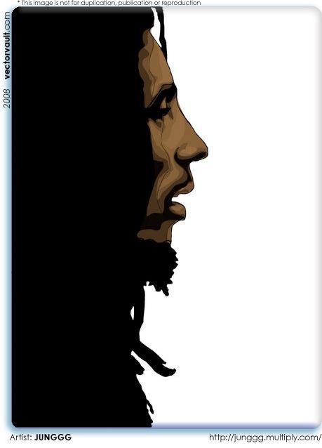 bob marley rastafarian rasta jamaica vector illustration vectorvault free vector files free vector free vector images