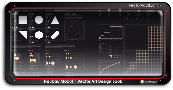 Neubau-Modul-book-search-buy-vector-art