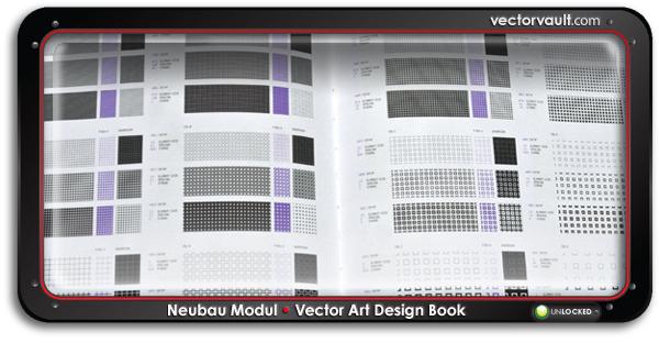 Neubau-Modul-design-book-search-buy-vector-art