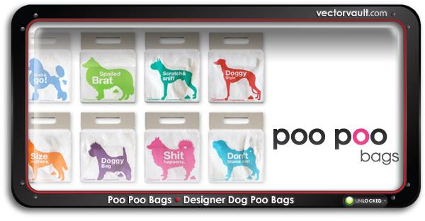 designer-dog-poo-bags-search-buy-vector-art
