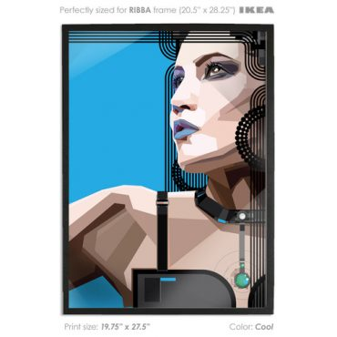 COOL. Indeed Vector Art Print