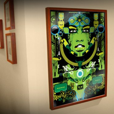 ikea ribba frame art customize colour and size
