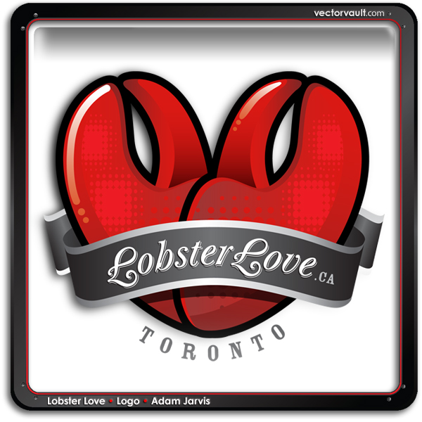 Lobster Love Logo by Adam Jarvis