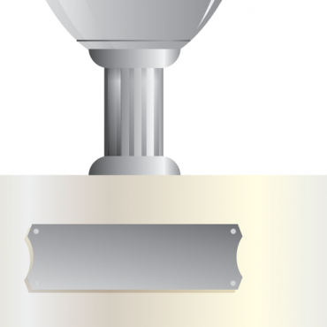 Buy vector silver cup trophy illustration royalty-free vectors