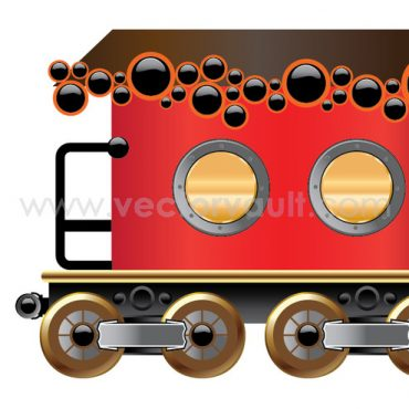 Buy vector choo choo train illustration royalty-free vectors