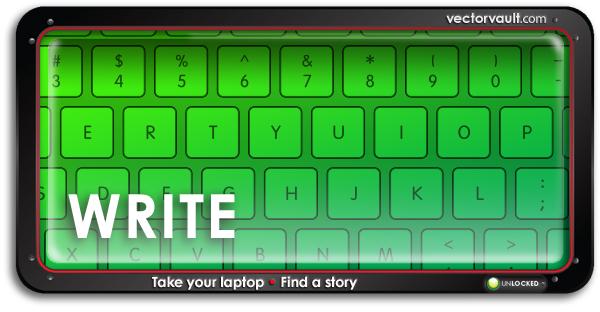 write-search-buy-vector-art