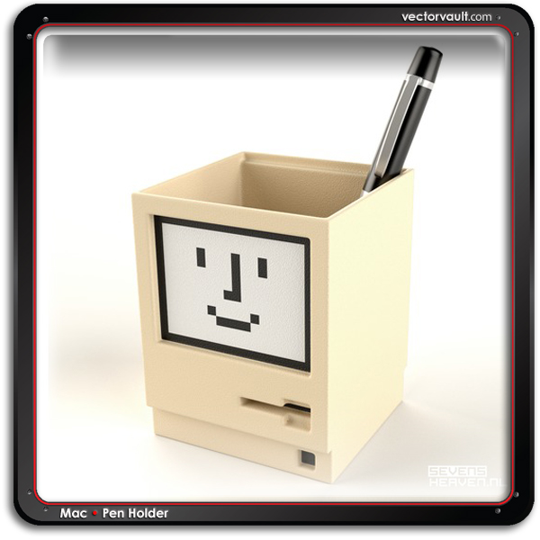apple-macintosh-mac-pen-holder-buy-vector-search-vector-free-vector