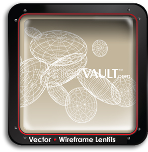buy-vector-3d-wireframe-lentils-buy-search-vectors