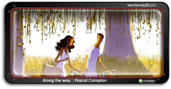 Along the way by vector artist Pascal Campion
