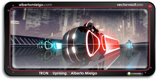 tron-uprising-alberto-mielgo-disney-animation-search-buy-vector-art