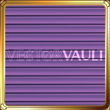 Buy Vector Framed Purple Blinds Image free vectors - Vectorvault