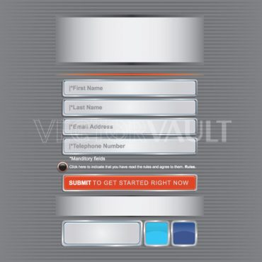image buy vector mobile user interface template UI vectors