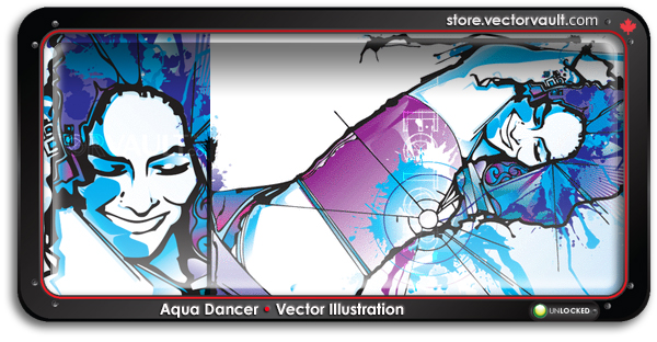 buy-vector-dancing-girl-woman-illustration-search-buy-vector-art