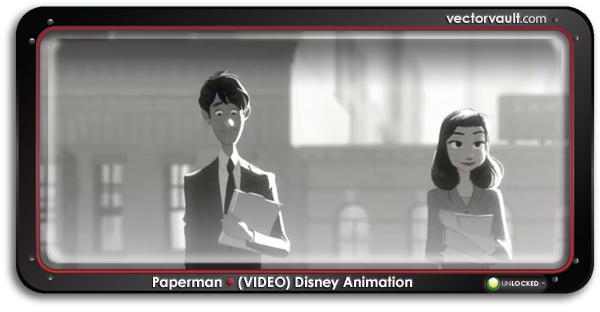 paperman-disney-animation-video-search-buy-vector-art