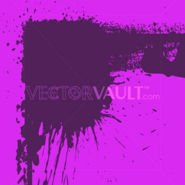 Buy Vector Rough Splatter Splash Frame