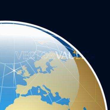 Buy Vector Glossy Globe Icon graphic