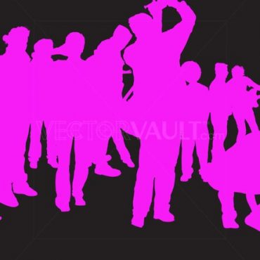 Buy Vector Pink Group Collage