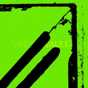 Buy Vector Grunge Storm Drain texture on green background