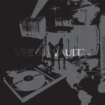 Buy Vector International Music Collage
