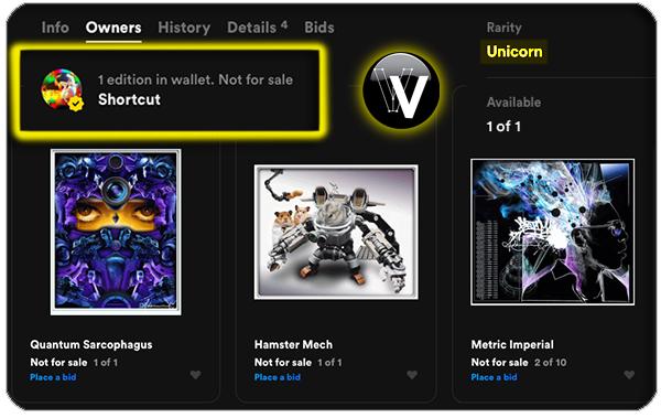 vectorvault-first-crypto-art-sale-NFT-rarible-Shortcut